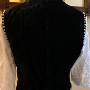 Double D Ranch Black Vintage Embellished Vest